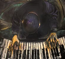 The piano man by Jenny Wood