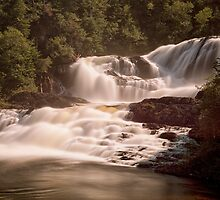 Bakers Brook Falls by Eunice Gibb