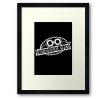 Dr. Horrible's Karaoke Bar Framed Print