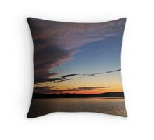 Ominous Skies Throw Pillow