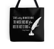 Louis L'Amour Quote 2 Tote Bag