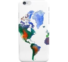 Oh!  What A Watercolor World iPhone Case/Skin