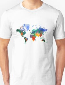 Oh!  What A Watercolor World T-Shirt