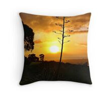The Drive Home Throw Pillow
