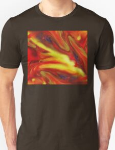 Vibrant Sensation Vivid Abstract III Unisex T-Shirt