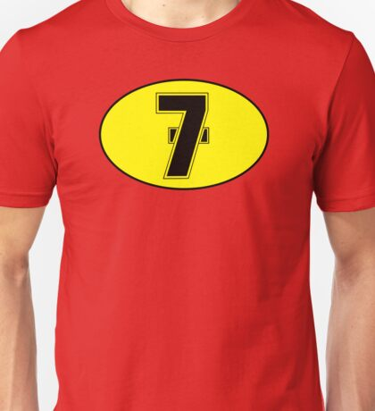 Barry Sheene Racing Number Unisex T-Shirt
