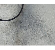 Wire and Stucco Photographic Print