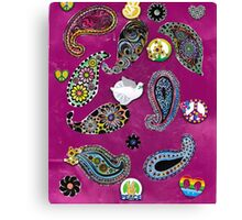 Paisleys For Peace  Canvas Print