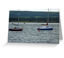 View From Poole Greeting Card