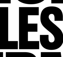 God Bless EDM (Electronic Dance Music) [black] Sticker