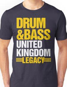 Drum & Bass United Kingdom Legacy  Unisex T-Shirt