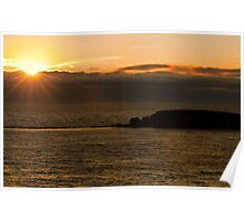 Oregon Coast, Sunset Poster