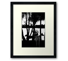 The Goat And The Dog Framed Print