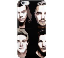 One Direction Vector Portrait iPhone Case/Skin