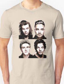One Direction Vector Portrait T-Shirt