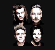 One Direction Vector Portrait T-Shirt