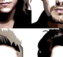 One Direction Vector Portrait Sticker