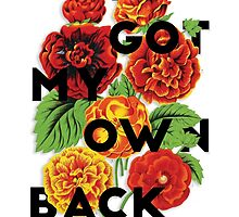 I Got My Own Back, 2015 by Alesia Fisher
