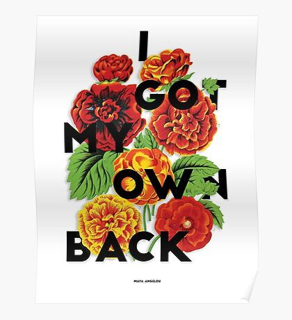 I Got My Own Back, 2015 Poster