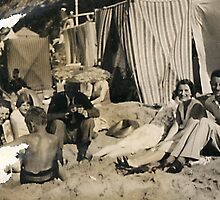 Grandpa On Holiday 1929 by Robert Phillips