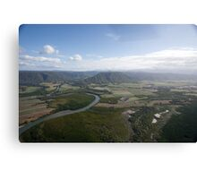 Aerial view of Daintree National Park, Queensland, Australia Canvas Print