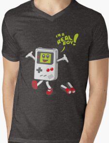 I'm a Real Boy! Mens V-Neck T-Shirt