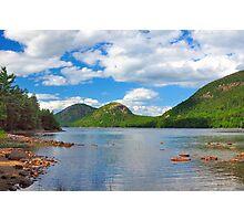 Jordan Pond, Acadia National Park, Maine Photographic Print