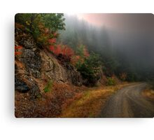 The Rush To Fall Canvas Print