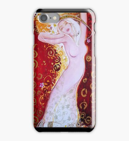 Cool Original Art Work Inspired By Gustav Klimt, Brett Whitely & Alphonse Mucha iphone 4 4s, iPhone 3Gs, iPod Touch 4g case. iPhone Case/Skin