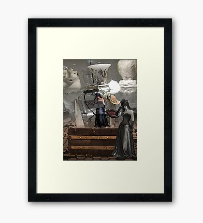 replique Framed Print