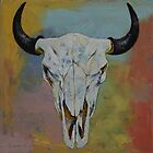 Bison Skull by Michael Creese