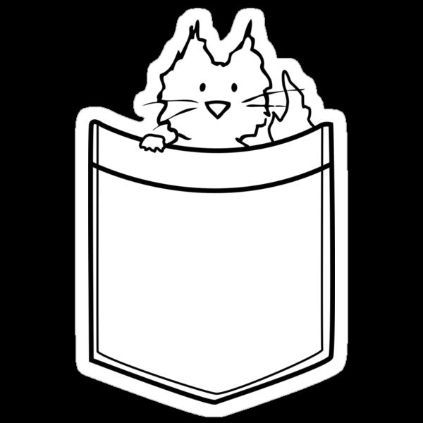 Cat in Your pocket by Elvedee