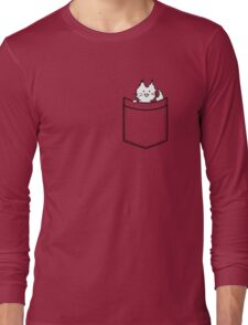 Cat in Your pocket Long Sleeve T-Shirt