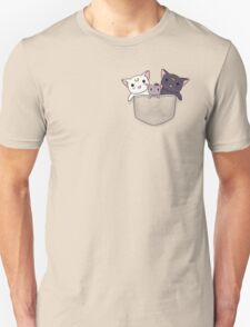 Pocket Kitties (All 3) Unisex T-Shirt