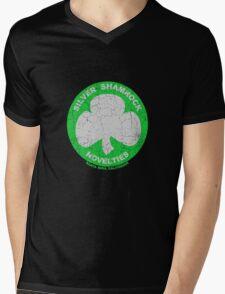 Silver Shamrock Novelties Mens V-Neck T-Shirt