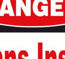 Danger Beans Inside Sticker