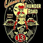 Queen of Thunder Road Art Print by ScreamingDemons