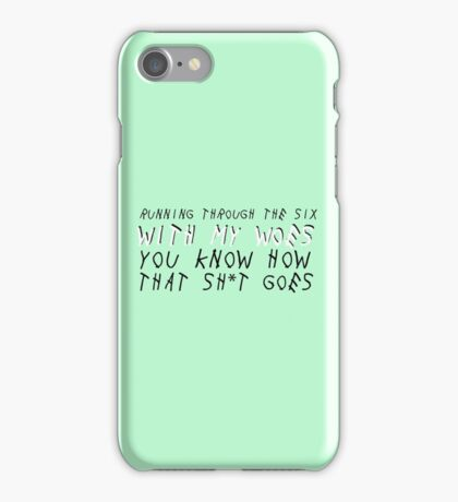 With my Woes iPhone Case/Skin