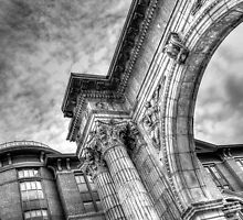 The Arch at McFerson Commons by Christopher Herrfurth