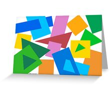 COLOR GAME 02 Greeting Card