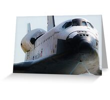 Endeavour Front View Greeting Card