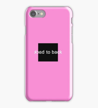 Back to Back iPhone Case/Skin