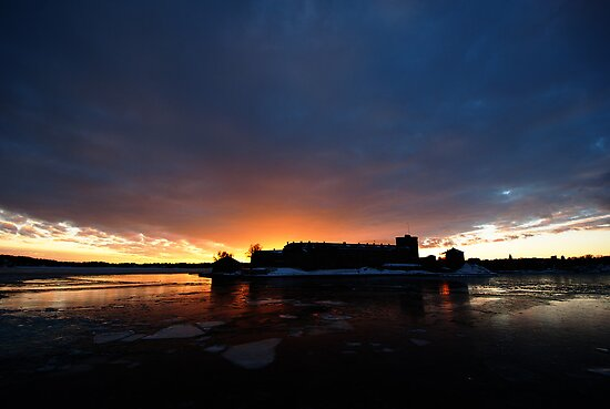 Waxholm Castle - II by Boris Vanrillaer
