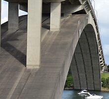 Concrete arched Gladesville  bridge by Paul Watson