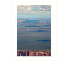 Grand Canyon - South Rim Road Art Print