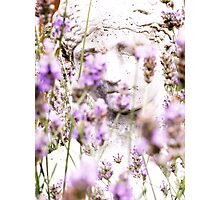 Lady in Lavander Photographic Print