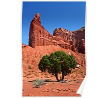 Chimney Rock - Capitol Reef Poster