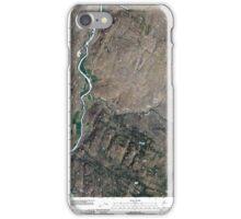 USGS Topo Map Washington State WA Keystone 20110503 TM iPhone Case/Skin