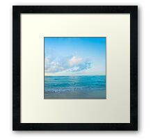 calm day Framed Print