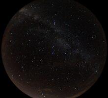 Fisheye Milky Way by Daniel Owens